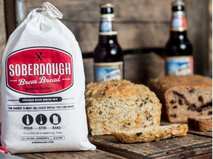 3 'make your own bread' kits showing a variety of flavors