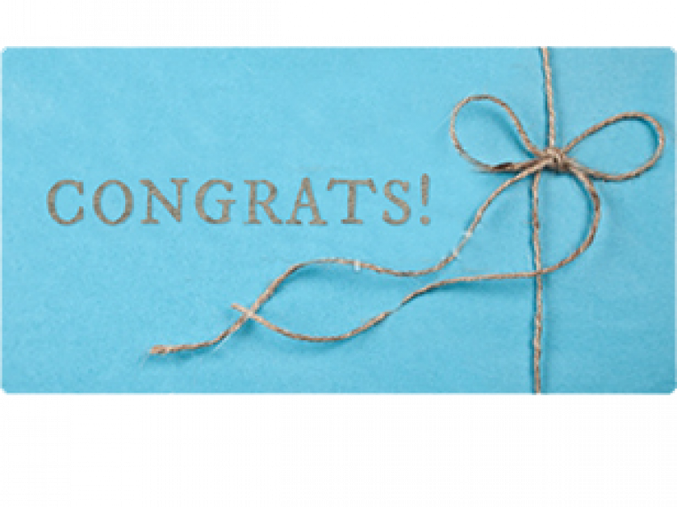 Congratulations! by Email Gift Card - 1