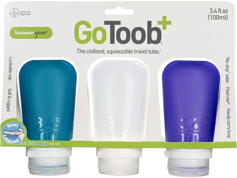 GoToob (3-Pack) by humangear - 9
