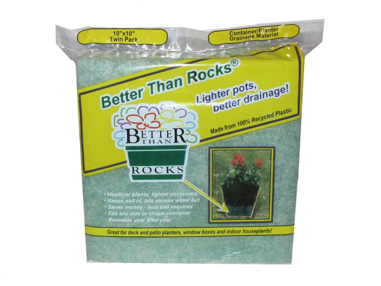 Pre-Cut Planter Drainage Material by Better Than Rocks - 4