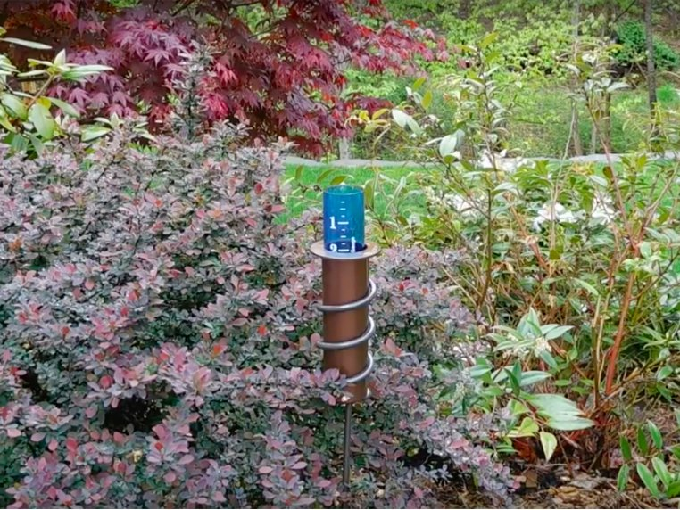 "24"" Stake Rain Gauge by World's Coolest - 2"