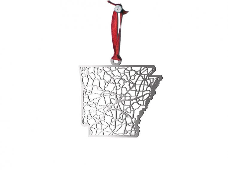 Steel Cut State Ornaments by Cut Maps - 5