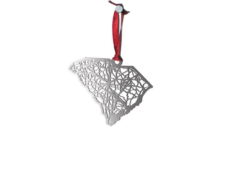 Steel Cut State Ornaments by Cut Maps - 40
