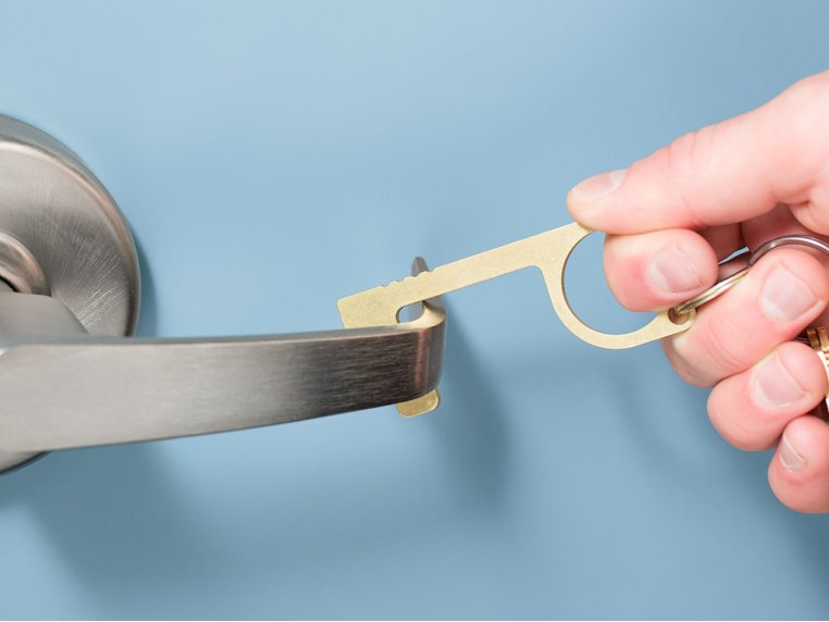 Careful Key Antimicrobial Door Opener by Zootility - 1