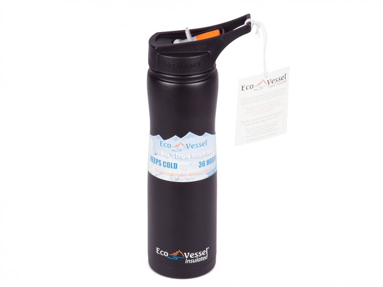 Triple Insulated Stainless Steel Water Bottle by Eco Vessel - 5