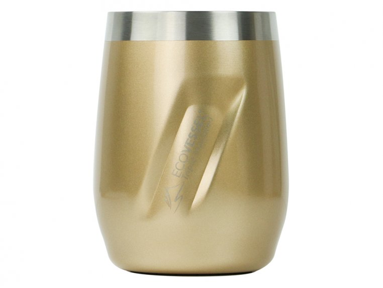 Insulated Stainless Steel Wine & Whiskey Tumbler by Eco Vessel - 8