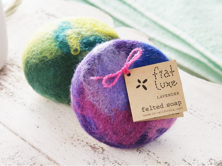 Felted Soap by Fiat Luxe - 2