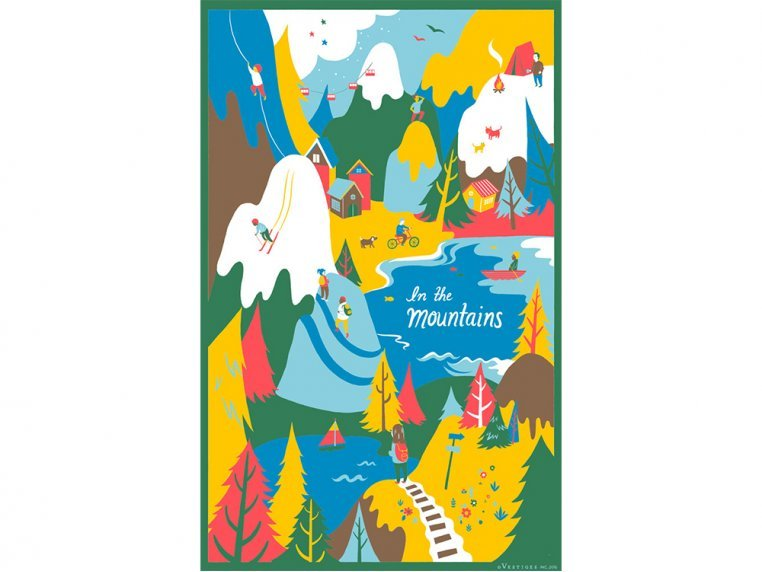 Places Tea Towels by Vestiges - 5