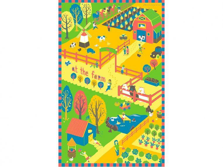 Places Tea Towels by Vestiges - 7
