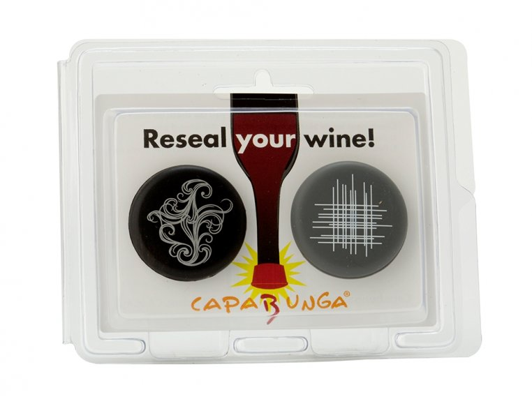 Set of Two Reusable Wine Caps by CapaBunga - 3