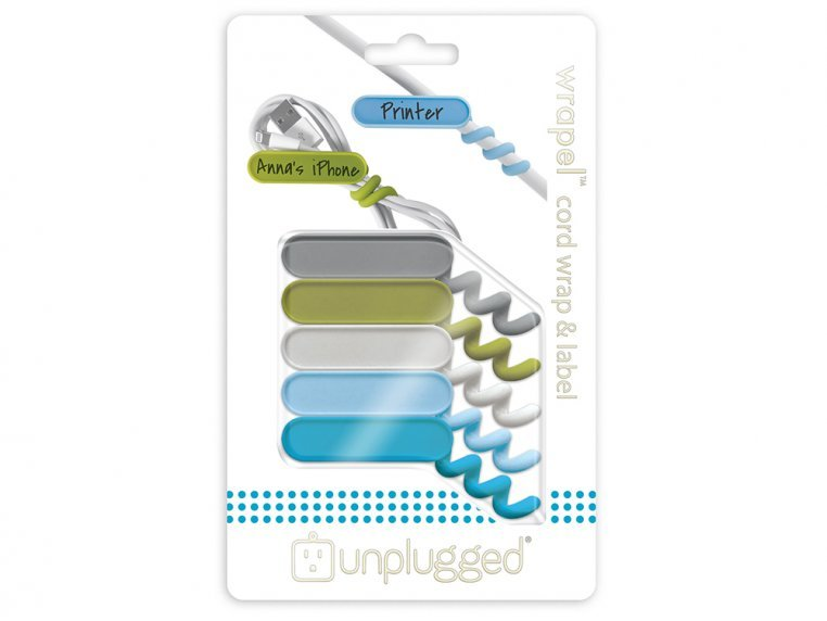 Wrapel Cord Wrap & Label by Unplugged Goods - 2