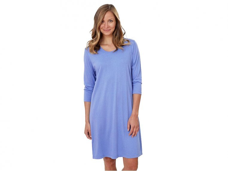 3/4 Sleeve Bamboo Sleepwear by Goodnite Shirt - 4