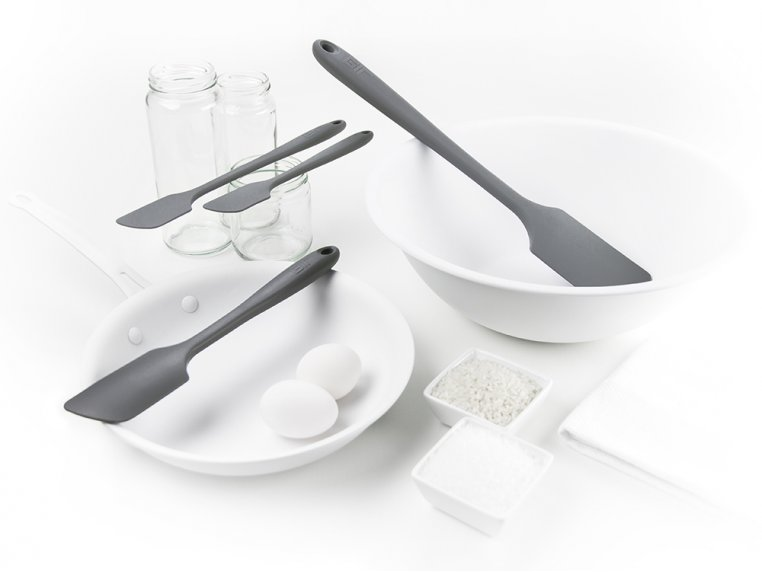 Silicone Spatula 4-Piece Set by Get It Right - 1