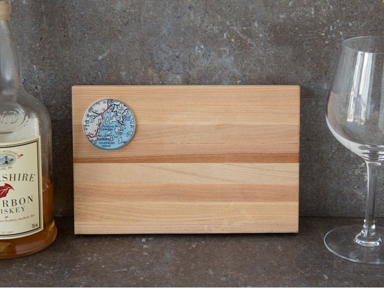 Bar Cutting Board by CHART Metalworks - 2
