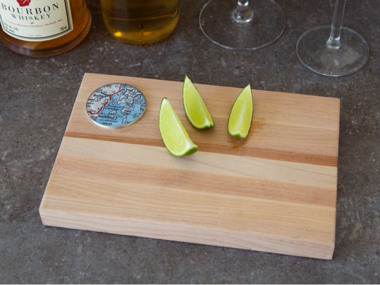Bar Cutting Board by CHART Metalworks - 1