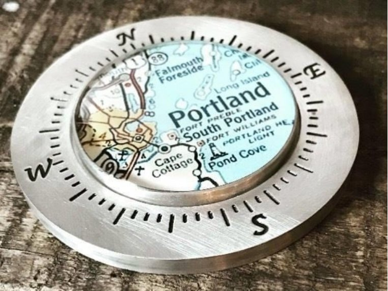 Handcrafted Custom Paperweight by CHART Metalworks - 1