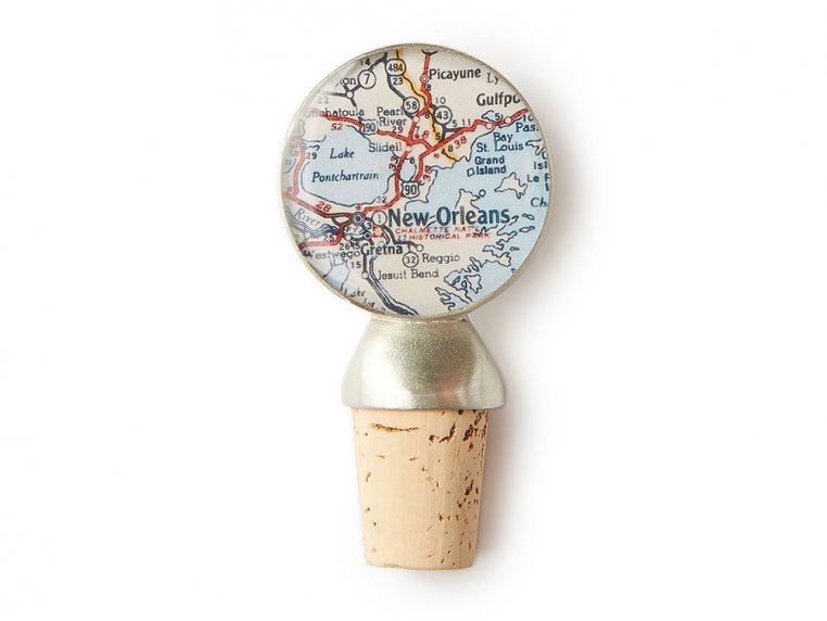Handcrafted Custom Wine Stopper by CHART Metalworks - 4