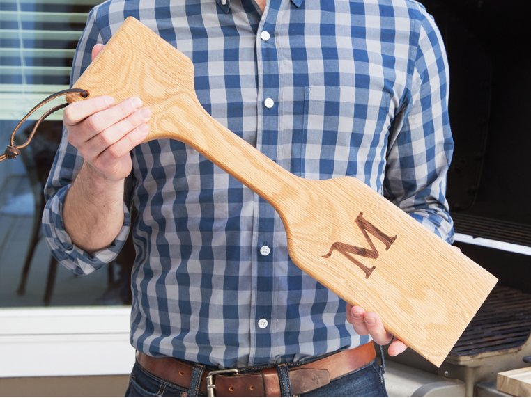 Personalized Woody Paddle by The Great Scrape - 1