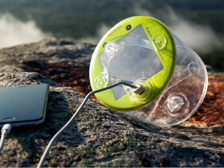 Luci Pro Outdoor 2.0: Solar Inflatable Lantern + Charger by MPOWERD - 1
