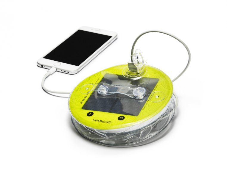 Luci Pro Outdoor 2.0: Solar Inflatable Lantern + Charger by MPOWERD - 5