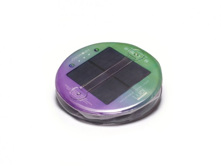 Luci Color: Solar Inflatable Lantern by MPOWERD - 7