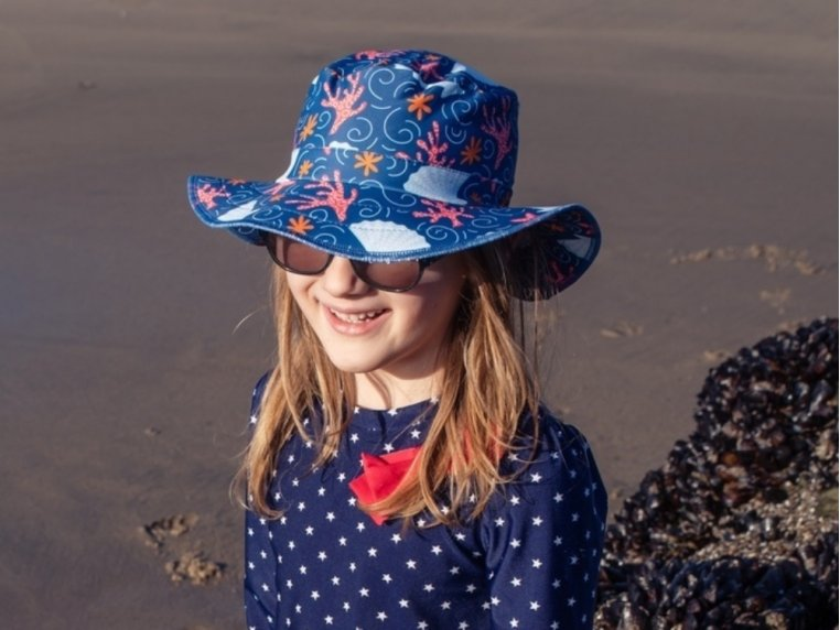 Waterproof Swim Bucket Hat - Toddlers by Swimlids - 2