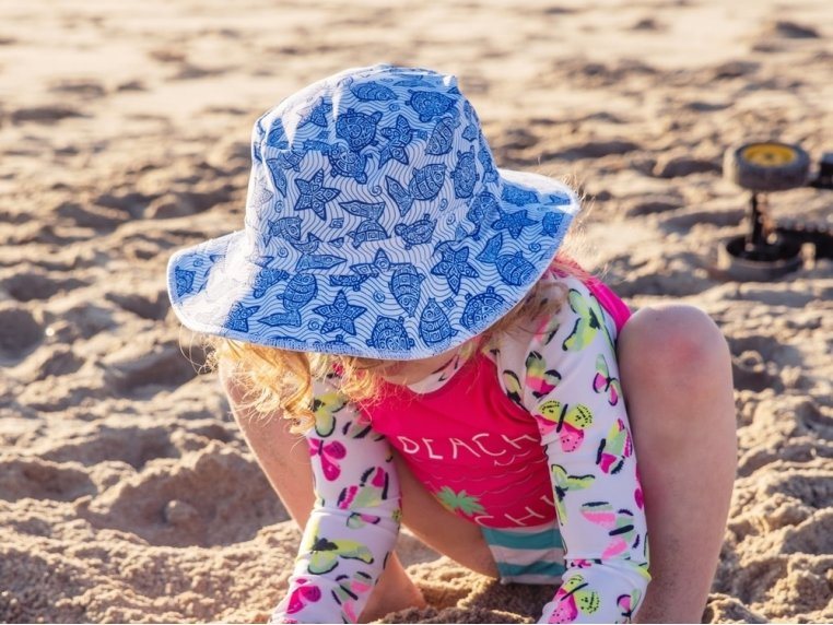 Waterproof Swim Bucket Hat - Toddlers by Swimlids - 1