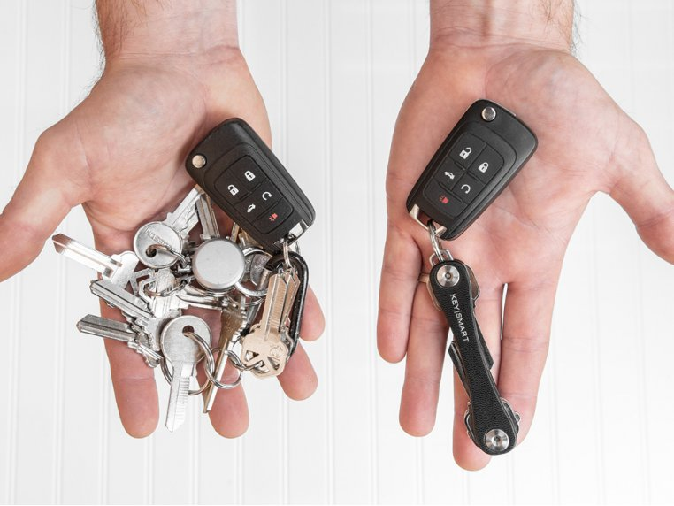 Leather Key Organizer by KeySmart - 2