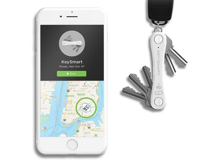 Tile™ Smart Location Key Organizer by KeySmart - 10