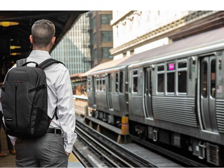 Urban 21 Commuter Backpack by KeySmart - 2