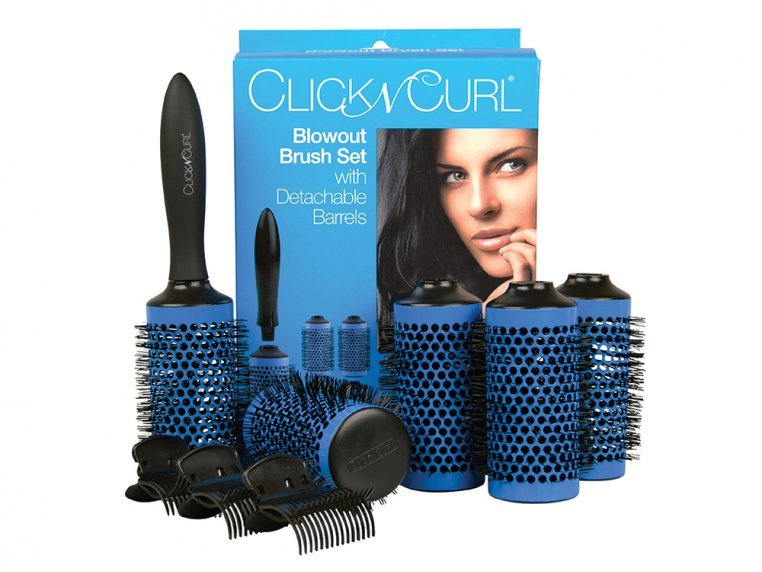 Detachable Round Brush Set by Click n Curl - 5