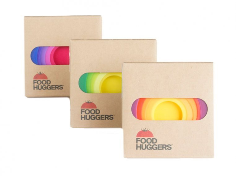 Set of Four Assorted Colors by Food Huggers - 7