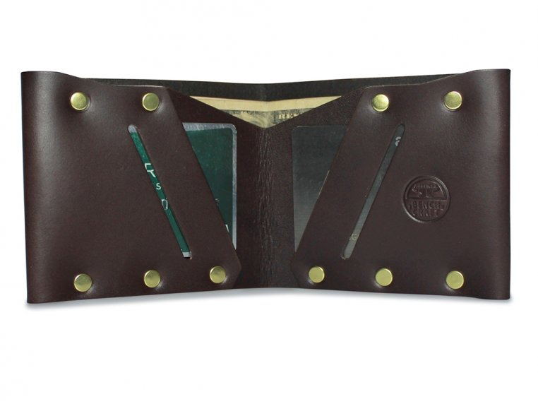 Riveted Billfold Wallet by American Bench Craft - 6