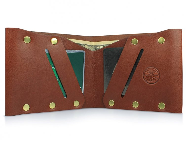Riveted Billfold Wallet by American Bench Craft - 7