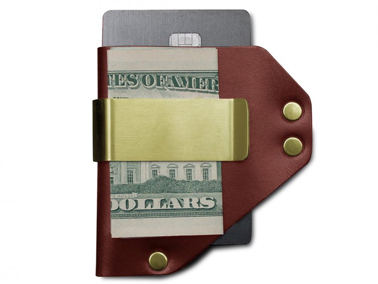 Caliber Money Clip by American Bench Craft - 8