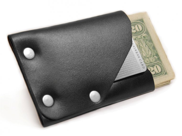 Riveted Front Pocket Wallet by American Bench Craft - 5