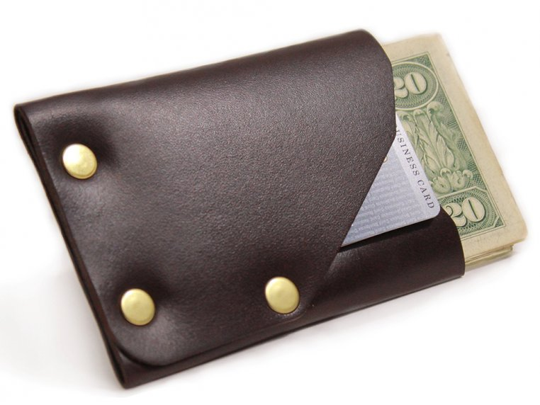 Riveted Front Pocket Wallet by American Bench Craft - 6
