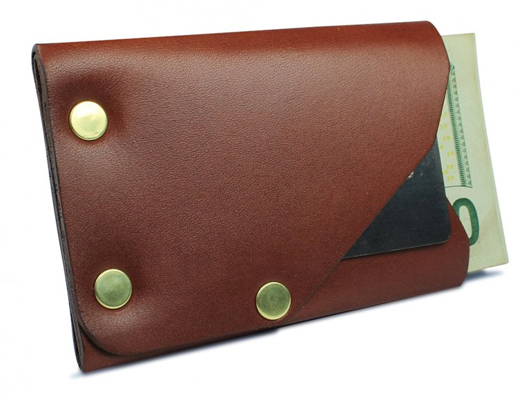 Riveted Front Pocket Wallet by American Bench Craft - 7