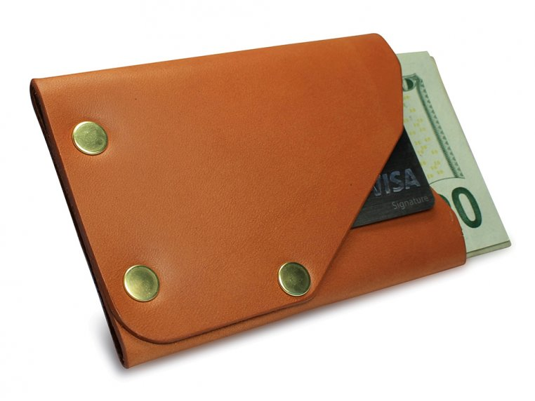 Riveted Front Pocket Wallet by American Bench Craft - 8