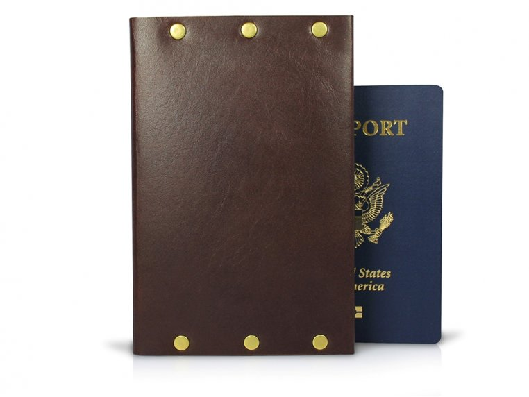Travel Journal Wallet by American Bench Craft - 2