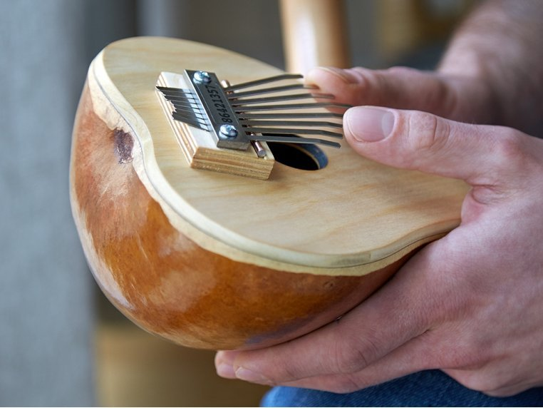 Gourd Thumb Piano by Mountain Melodies - 1