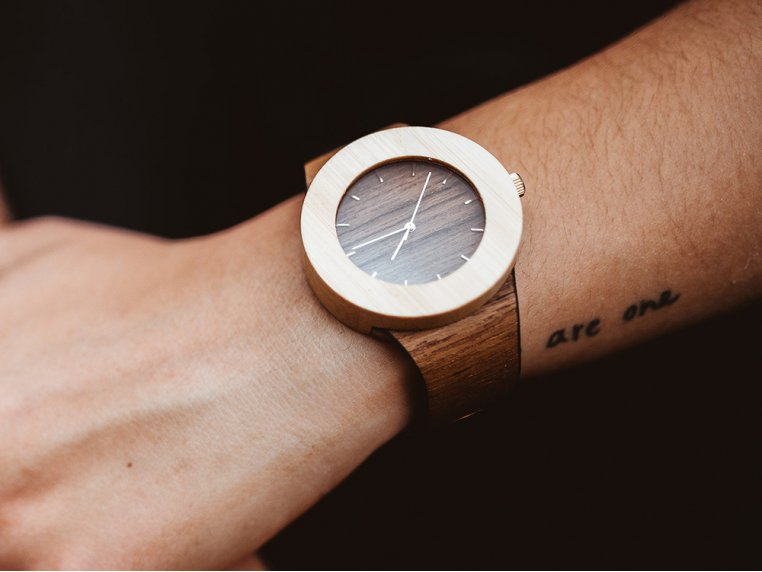 Teak & Bamboo Carpenter Watch by Analog Watch Co. - 2