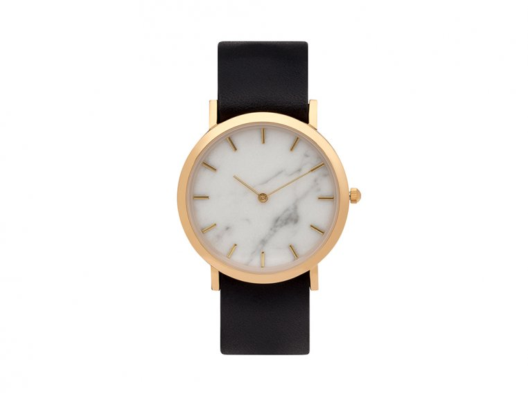 White Marble Classic Watch by Analog Watch Co. - 4