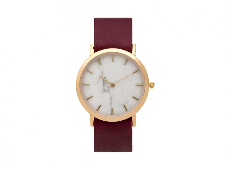 White Marble Classic Watch by Analog Watch Co. - 6
