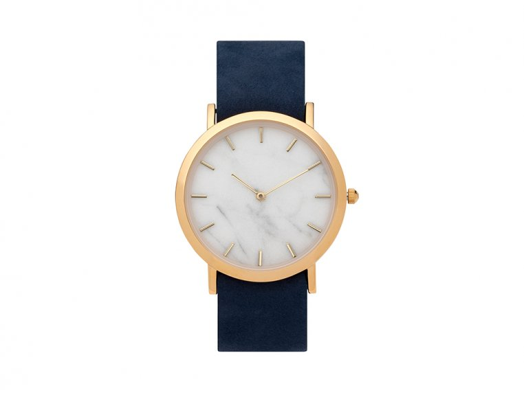 White Marble Classic Watch by Analog Watch Co. - 7