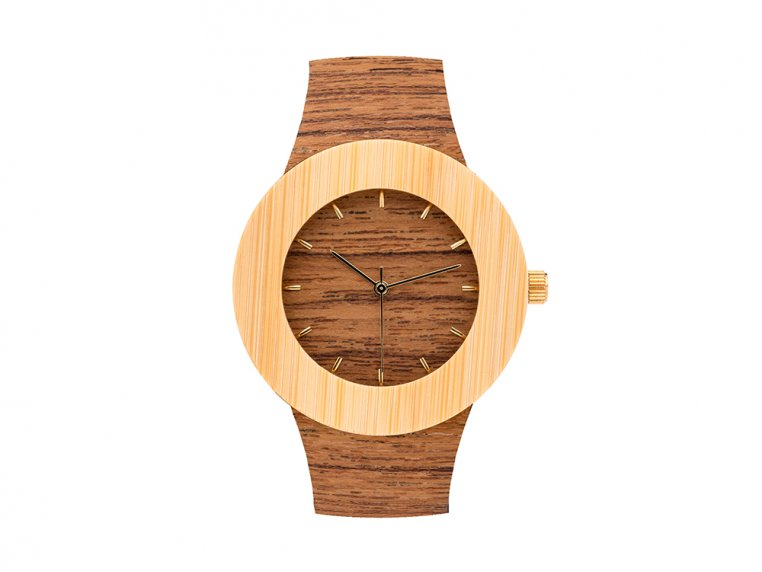 Teak & Bamboo Carpenter Watch by Analog Watch Co. - 5