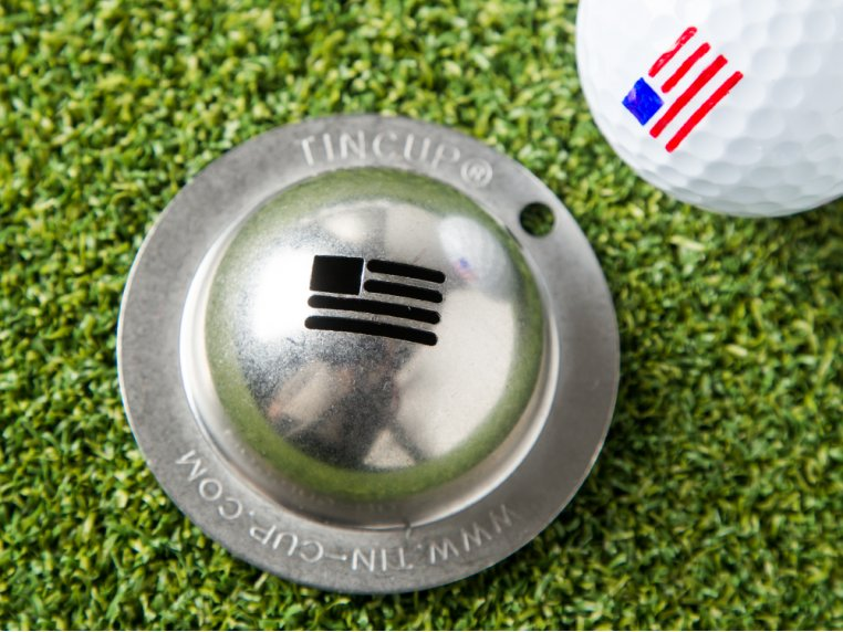 Stainless Steel Golf Ball Marker by Tin Cup - 2
