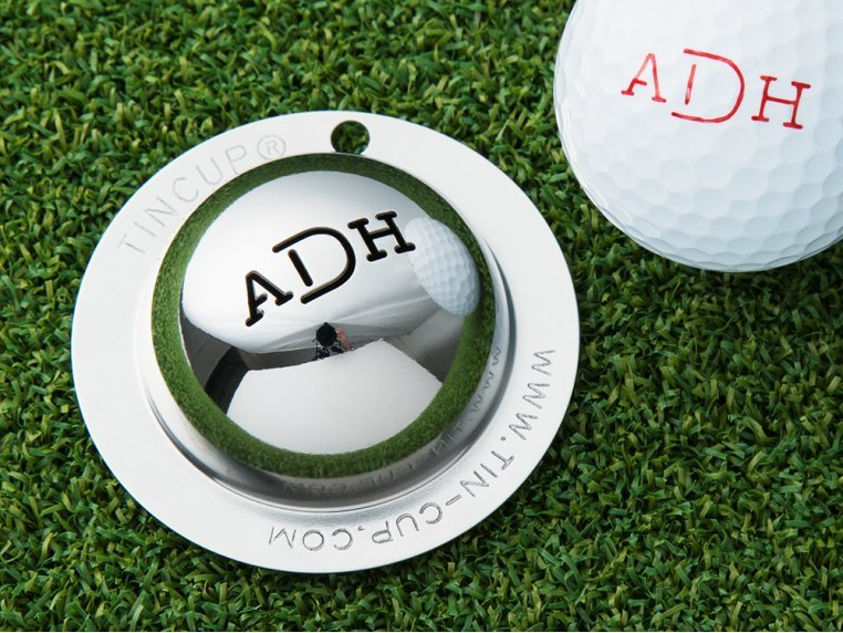 Custom Monogram Golf Ball Marker by Tin Cup - 1