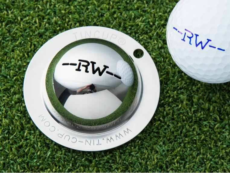 Custom Initial Golf Ball Marker by Tin Cup - 1