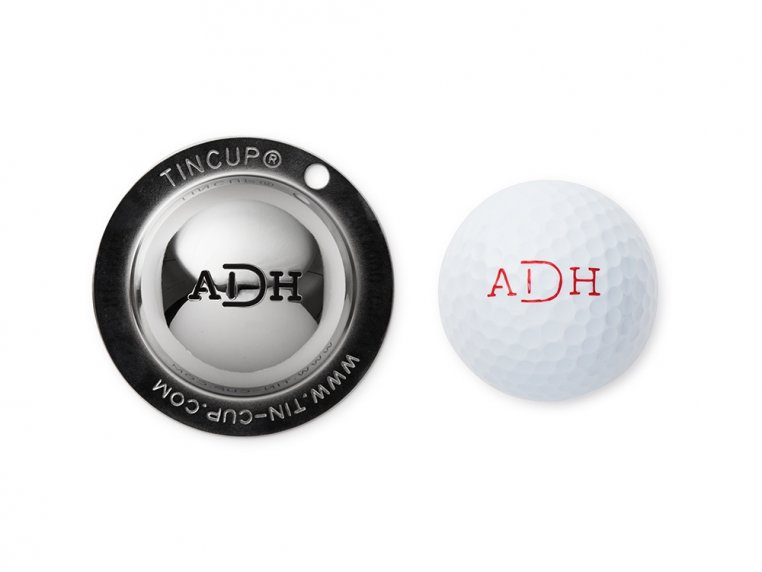 Custom Monogram Golf Ball Marker by Tin Cup - 6
